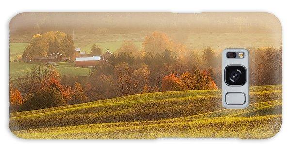Autumn Fields Galaxy Case