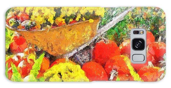 Autumn Floral Cornucopia Galaxy Case