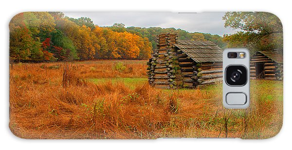 Autumn Foliage In Valley Forge Galaxy Case by Michael Porchik