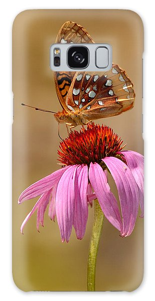 Autumn Fritillary Butterfly Galaxy Case