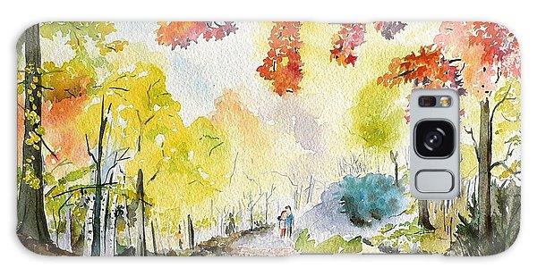 Autumn Galaxy Case by Geeta Biswas