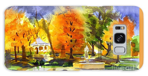 Autumn Gold 2 Galaxy Case by Kip DeVore