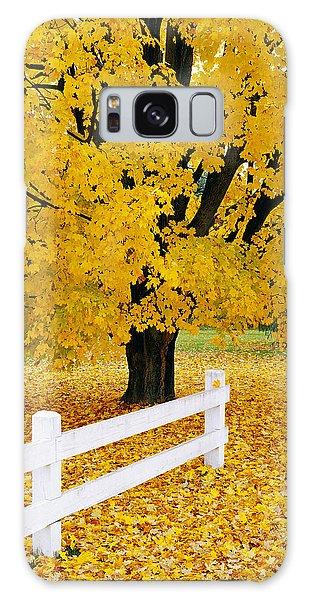 Autumn Gold Galaxy Case by Alan L Graham