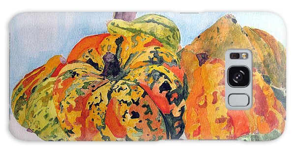 Autumn Gourds Galaxy Case