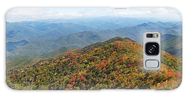 Autumn Great Smoky Mountains Galaxy Case by Melinda Fawver