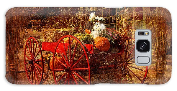 Autumn Harvest At Brewster General Galaxy Case