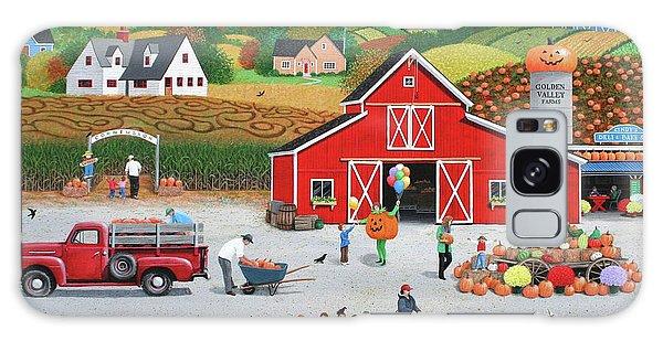 Autumn Harvest Galaxy Case by Wilfrido Limvalencia