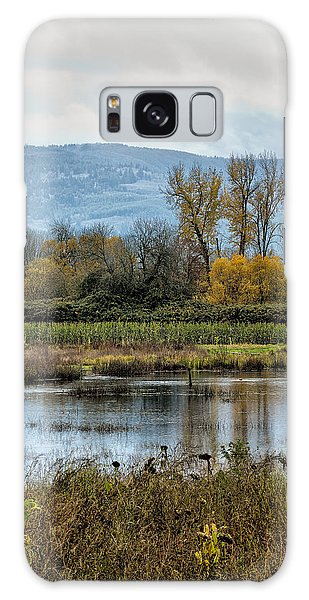 Galaxy Case featuring the photograph Autumn Haven by Belinda Greb