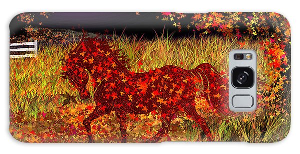 Autumn Horse Bewitched Galaxy Case