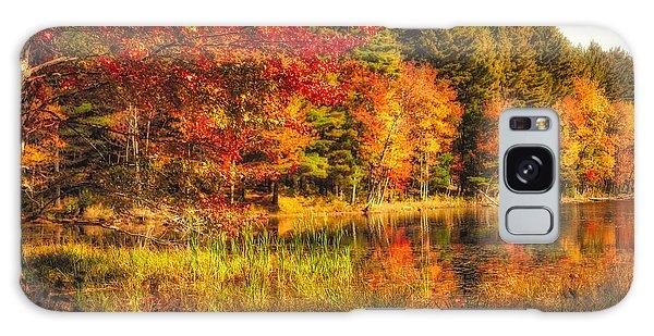 Autumn Hot Mess Galaxy Case by Robert Clifford