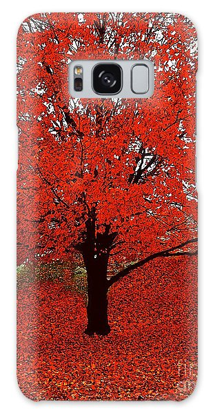 Red Tree Impressions #1 Red Galaxy Case