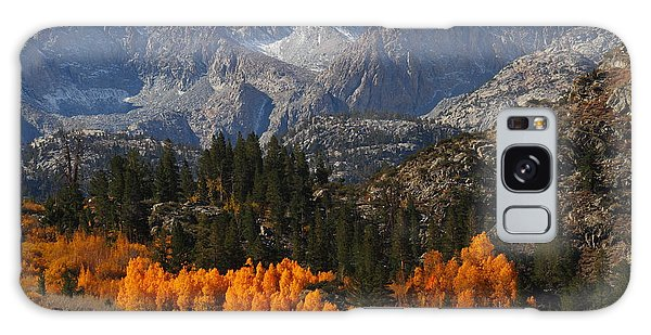 Autumn In Bishop Canyon In The Eastern Sierras Galaxy Case