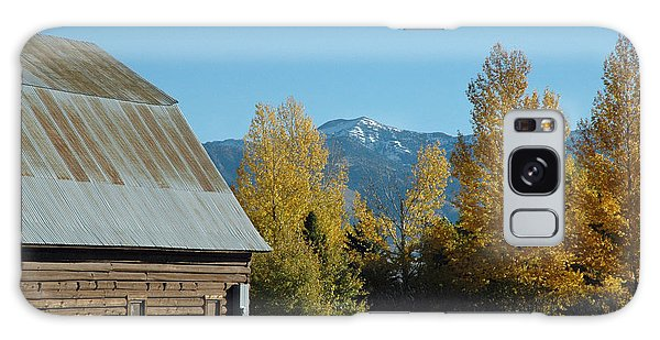 Autumn In Bozeman Montana Galaxy Case
