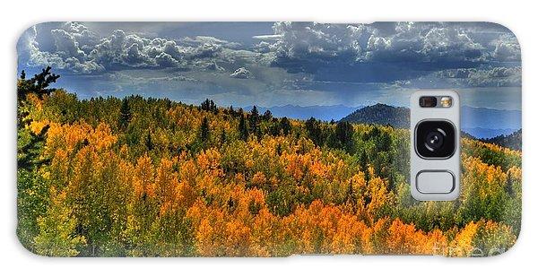 Autumn In Colorado Galaxy Case