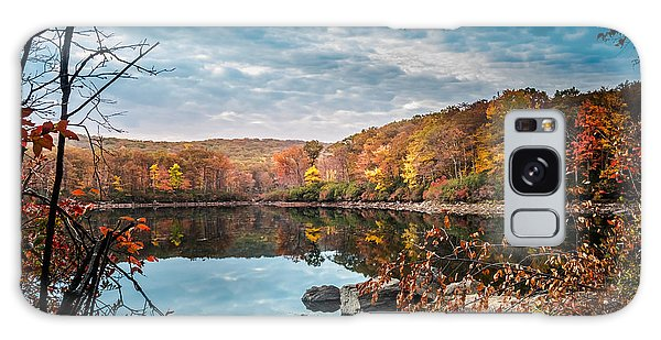 Autumn In Harriman State Park Galaxy Case
