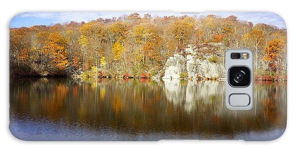 Autumn In Lake Canopus Galaxy Case