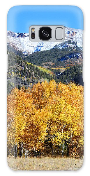 Autumn In Lake City Galaxy Case