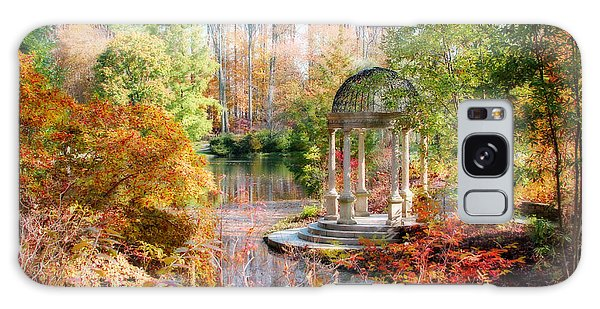 Autumn In Longwood Gardens Galaxy Case