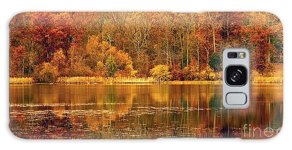Autumn In Mirror Lake Galaxy Case