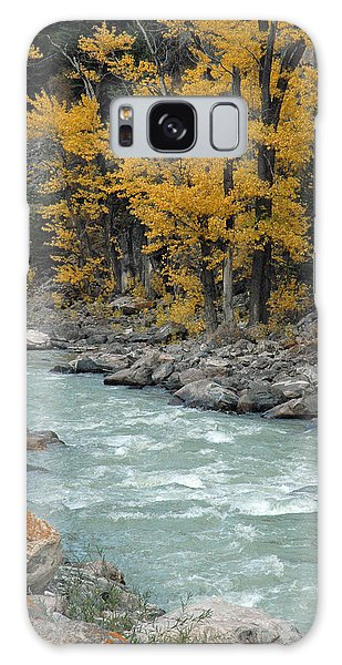 Autumn In Montana's Gallatin Canyon Galaxy Case