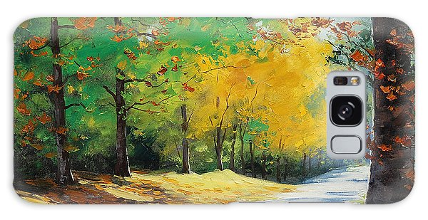 Foliage Galaxy Case - Autumn In Mt Wilson by Graham Gercken