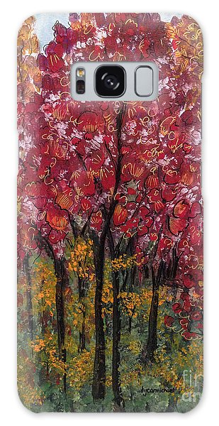 Autumn In Nashville Galaxy Case by Holly Carmichael