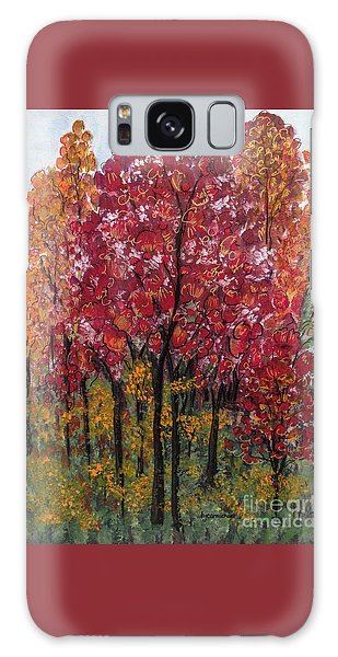 Autumn In Nashville Galaxy Case