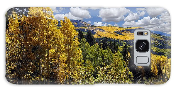 Autumn In New Mexico Galaxy Case