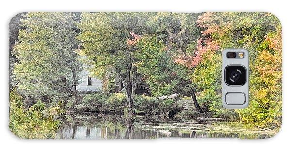 Autumn In Pastel Galaxy Case