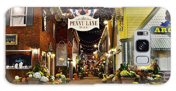 Autumn In Penny Lane - Rehoboth Beach Delaware Galaxy Case