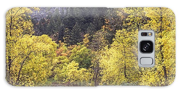 Autumn In Provo Canyon Utah Galaxy Case