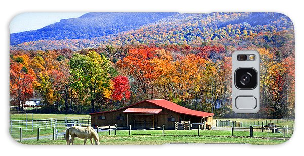 Autumn In Rural Virginia  Galaxy Case