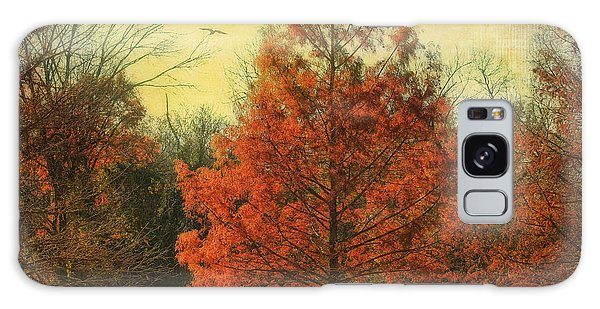 Autumn In Texas Galaxy Case by Joan Bertucci