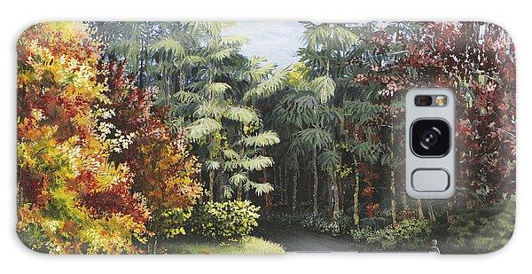 Autumn In The Arboretum Galaxy Case