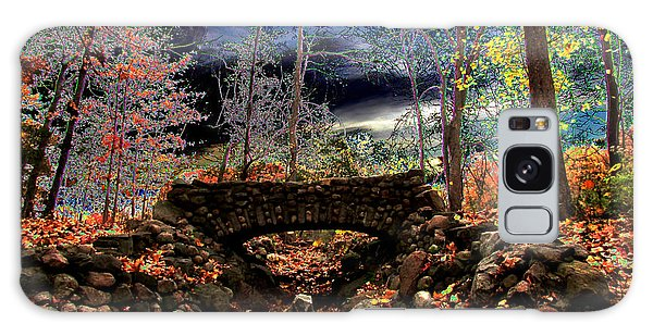 Autumn In The Meadow Galaxy Case by Michael Rucker