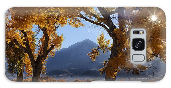 Autumn In The Mountains Galaxy Case