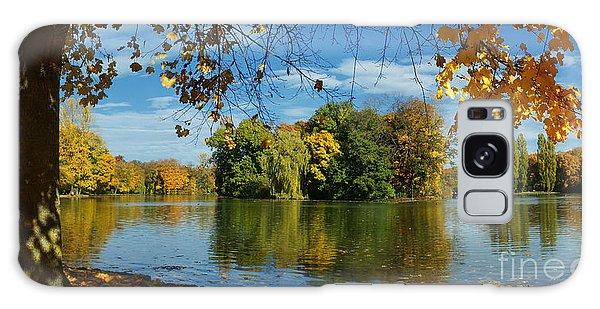 Autumn In The Park 2 Galaxy Case by Rudi Prott