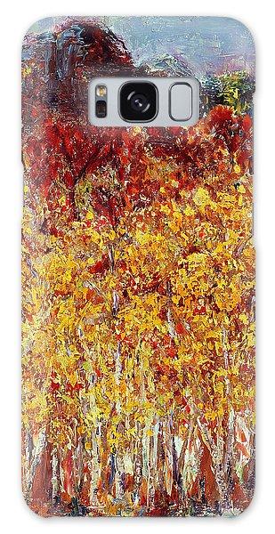 Autumn In The Pioneer Valley Galaxy Case by Regina Valluzzi