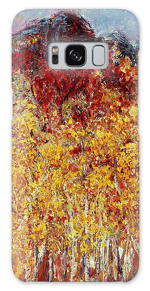 Autumn In The Pioneer Valley Galaxy Case