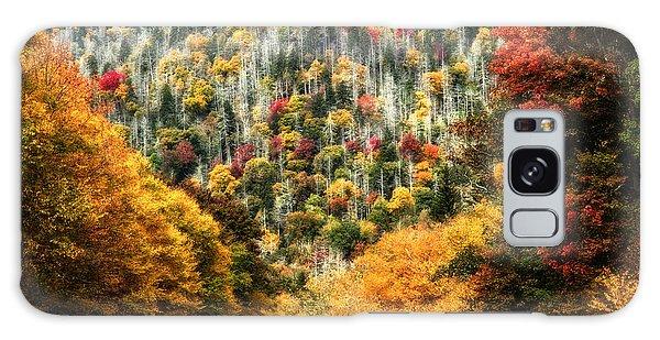 Autumn In The Smokies Galaxy Case by Deborah Scannell