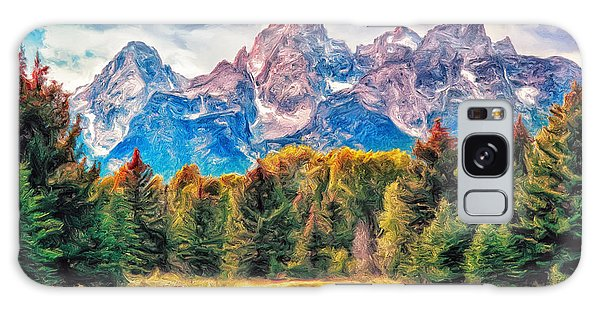 Autumn In The Tetons Galaxy Case