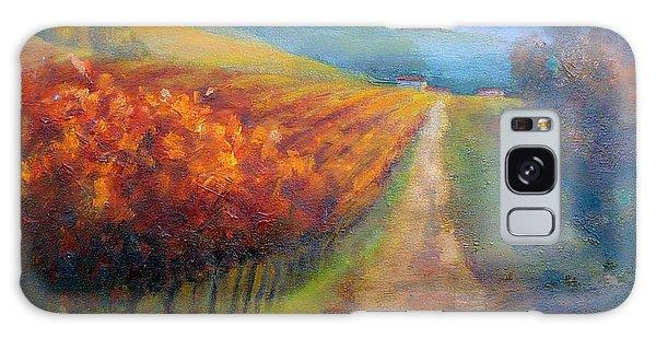 Autumn In The Vineyard Galaxy Case