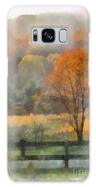 Autumn In Virginia Galaxy Case by Kerri Farley