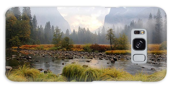 Autumn In Yosemite Valley Galaxy Case