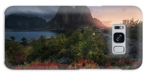 Dawn Galaxy Case - Autumn Is Coming by Carlos F. Turienzo