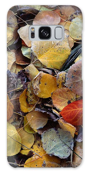 Autumn Leaf Puzzle Galaxy Case