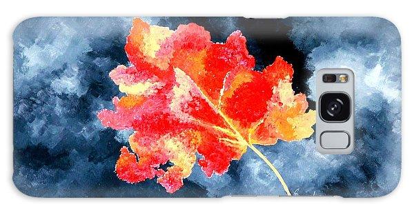 Autumn Leaf Galaxy Case by Thomas Gronowski