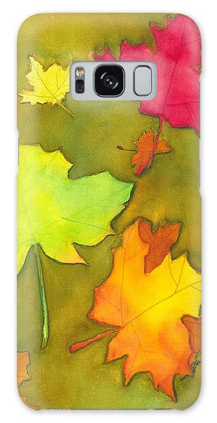Autumn Leaves Galaxy Case