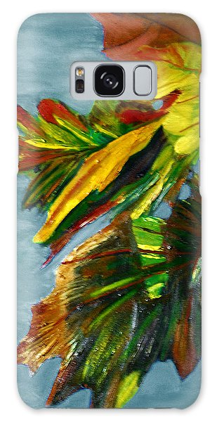 Autumn Leaves Galaxy Case by Michael Daniels