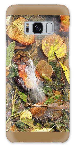 Autumn Leavings Galaxy Case by Ann Horn